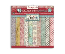 Stamperia Alice Backgrounds 8x8 Inch Paper Pack (SBBS46)