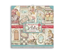 Stamperia Alice Through the Looking Glass 8x8 Inch Paper Pack (SBBS42)