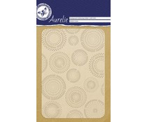Aurelie Dotted Circles Background Embossing Folder (AUEF1003)