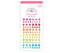 Doodlebug Design Bright Assortment Mini Jewels (7253)