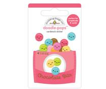 Doodlebug Design Chocolate Bits Doodle-Pops (7256)
