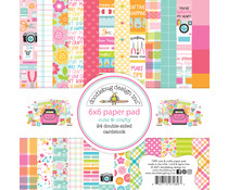 Doodlebug Design Cute & Crafty 6x6 Inch Paper Pad (7289)