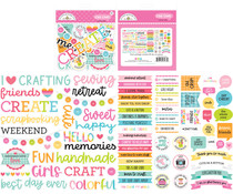 Doodlebug Design Cute & Crafty Chit Chat (7273)