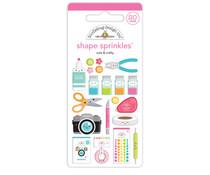 Doodlebug Design Cute & Crafty Shape Sprinkles (7248)