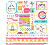 Doodlebug Design Cute & CraftyThis & That Stickers (7276)