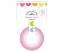 Doodlebug Design Rainbow Hearts Washi Tape (7246)