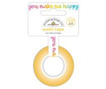 Doodlebug Design You Make Me Happy Washi Tape (7245)