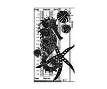 Crafty Individuals Under the Sea Unmounted Rubber Stamps (CI-548)
