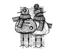 Crafty Individuals Where Did the Sun Go? Unmounted Rubber Stamps (CI-569)