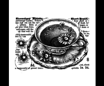 Crafty Individuals 8d Shrewsbury Biscuits Unmounted Rubber Stamps (CI-577)