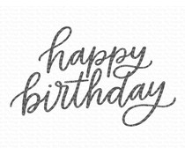 My Favorite Things Happy Birthday Clear Stamps (CS-580)