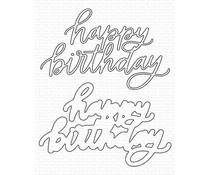 My Favorite Things Happy Birthday Die-namics (MFT-2048)