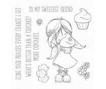 My Favorite Things Cupcake Cutie Clear Stamps (TI-006)