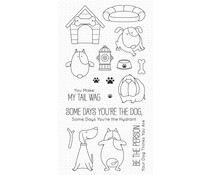 My Favorite Things You Make My Tail Wag Clear Stamps (BB-125)