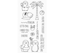 My Favorite Things Penguins in Paradise Clear Stamps (BB-128)