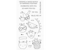 My Favorite Things Bunch of Happiness Clear Stamps (CS-579)