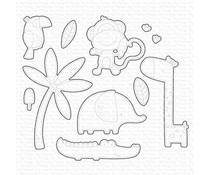 My Favorite Things Summer Safari Die-namics (MFT-2021)