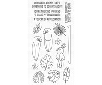 My Favorite Things Something Squawk About Clear Stamps (CS-578)