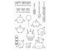 My Favorite Things Birthday Chicks Clear Stamps (BB-134)