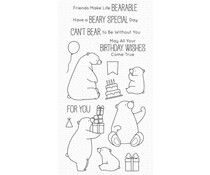 My Favorite Things Birthday Bears Clear Stamps (BB-129)