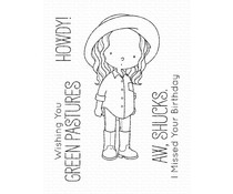 My Favorite Things Green Pastures Clear Stamps (BB-137)