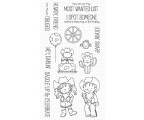 My Favorite Things Saddle Up & Celebrate Clear Stamps (BB-135)