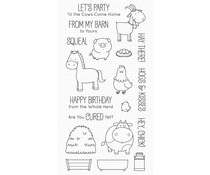 My Favorite Things The Whole Herd Clear Stamps (BB-127)