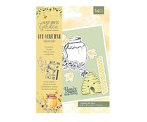 Crafter's Companion Bee-Youtiful Collection Stamp & Die Honey Bee (NG-BEY-STD-HBEE)