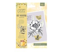 Crafter's Companion Bee-Youtiful Collection Stamp & Die Bee Blooms (NG-BEY-STD-BEBL)