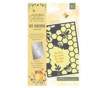 Crafter's Companion Bee-Youtiful Collection Metal Die Sweet as Honeycomb (NG-BEY-MD-SAH)