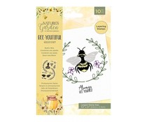Crafter's Companion Bee-Youtiful Collection Clear Stamps Build a Bee (NG-BEY-STP-BABE)