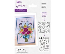 Gemini Just For You Build-A-Bouquet Stamp & Die (GEM-STD-BAB-JFY)