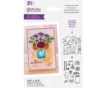 Gemini For a Beautiful Friend Build-A-Bouquet Stamp & Die (GEM-STD-BAB-FABF)
