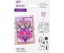 Gemini Enjoy Your Day Build-A-Bouquet Stamp & Die (GEM-STD-BAB-EJD)