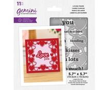 Gemini Loving Frame Stamp & Die (GEM-STD-LOVF)