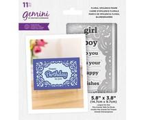 Gemini Floral Opulence Frame Stamp & Die (GEM-STD-FLOF)