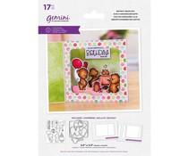 Gemini Birthday Bears Box Stamp & Die (GEM-STD-BBIRBEA)