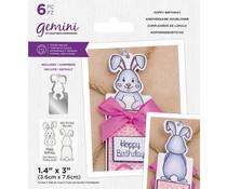 Gemini Hoppy Birthday Stamp & Die (GEM-STD-HOPBI)