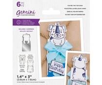 Gemini You're the Top Dog! Stamp & Die (GEM-STD-YTTD)
