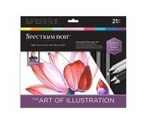 Spectrum Noir Discovery Kit Advanced Art of Illustration (SPECN-ADIS-ARTI)