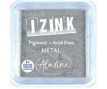 Aladine Izink Quick Dry Metal Silver Inkpad (19549)