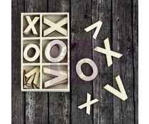 Finnabair XOXO Wood Icons in a Box (36pcs) (960216)
