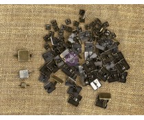Finnabair Mechanicals Brads Squares (100pcs) (961176)