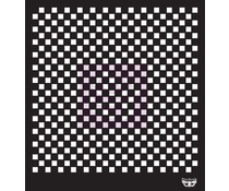 Finnabair Checkered 12x12 Inch Stencil (960186)
