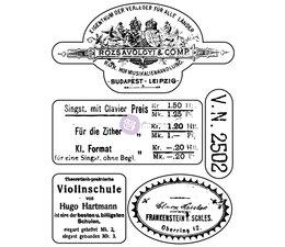 Finnabair #1 Musica Clear Stamp (960933)