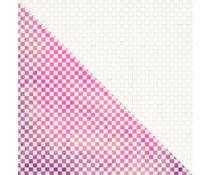 Finnabair Checkered 12x12 Inch Resist Canvas (960582)