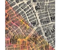 Finnabair City Map 12x12 Inch Resist Canvas (960704)