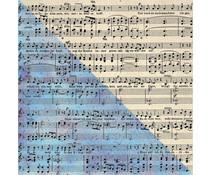 Finnabair Music Note 12x12 Inch Resist Canvas (960698)