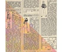 Finnabair News Print 12x12 Inch Resist Canvas (960681)
