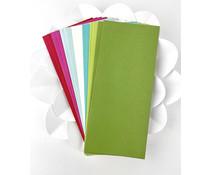 Picket Fence Studios Slim Line Envelopes 4.125 x 9.5 Inch Funky Christmas (EN-103)